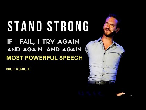 Nick Vujicic: STAND STRONG