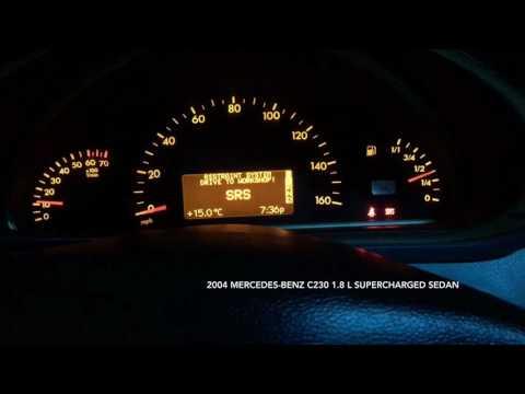 Mercedes-Benz C230 SRS Error Problem