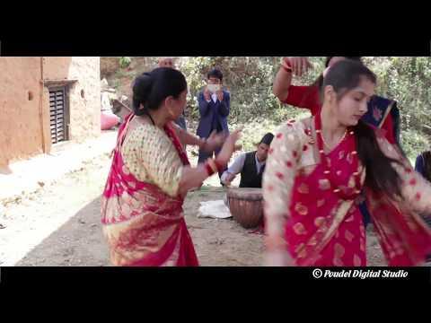 (पन्चे बाजामा पारिवारिक रमाइलो Mahesh Weds Anu Aapchaur Gulmi - Duration: 11 minutes.)
