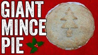 Giant Mince Pie by  My Virgin Kitchen