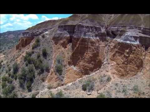 Canyon Drone Video