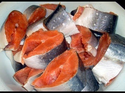Рыба красная засолка в домашних условиях