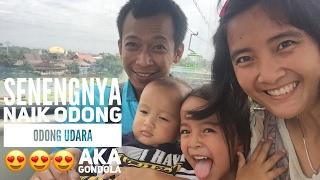 Senengnya yang naik Odong Odong Terbang 😂😂😂 naik Gondola di TMII Video