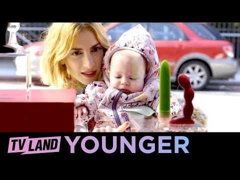 'Stiff Competition' Younger Ep. 5 Bloopers (Compilation) | TV Land
