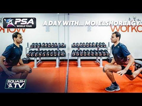 Squash: A Day With... Mohamed ElShorbagy