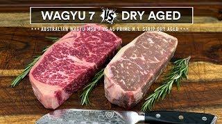 Video Wagyu MBS7 vs Prime Dry Aged - Steak Battle! Which is best? MP3, 3GP, MP4, WEBM, AVI, FLV Desember 2018