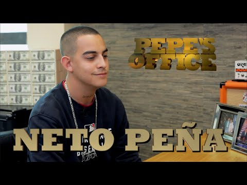 NETO PEÑA COMBINANDO EL RAP CON LA CANTADA - Pepe's Office - Thumbnail