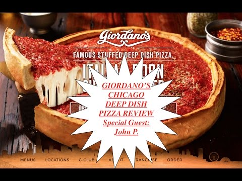 Giordano's Chicago Deep Dish Pizza Review
