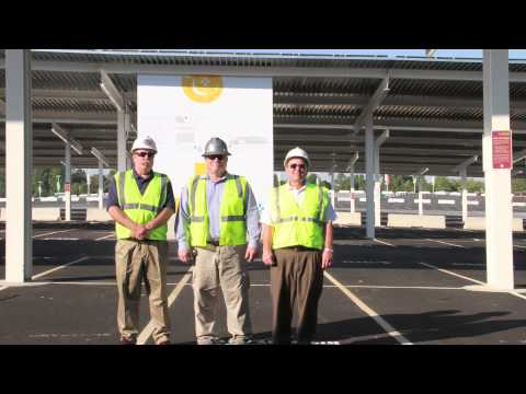 FedExField Solar Panels Installed by IBEW Contractors
