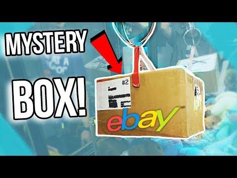 I WON A 50 MYSTERY BOX FROM THE CLAW MACHINE! eBay Mystery Box
