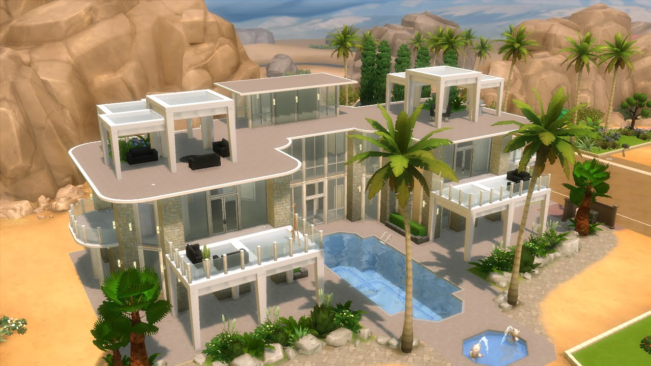 Songs In The Sims 4 House Building Modern Mansion