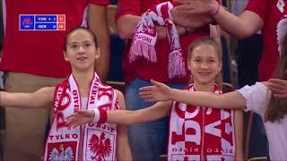 Polscy fani rozwalają system podczas meczu siatkówki Niemcy – Chiny