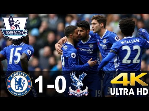 Chelsea vs Crystal Palace 1-0 All Goals and Extended Highlights    17/12/16    BPL    HD