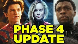 Video INFINITY WAR - MCU PHASE 4 Update! MP3, 3GP, MP4, WEBM, AVI, FLV Juli 2018