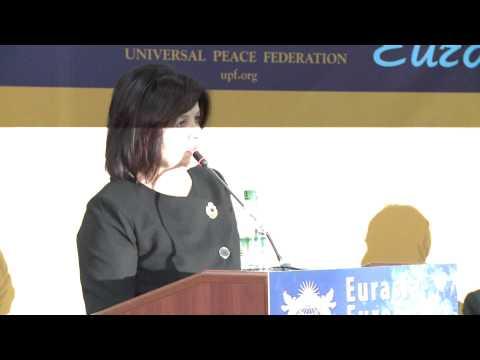 """Margareta Timofti a participat la Conferința de Leadership """"Eurasia și Europa: Dialog pentru pace"""""""