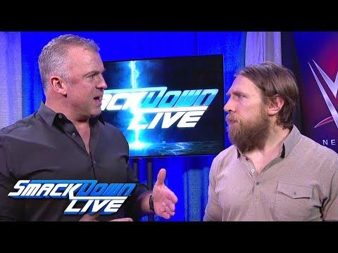 Shane McMahon and Daniel Bryan address attack by Owens & Zayn: SmackDown LIVE, Feb. 13, 2018