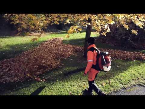 Comment travailler avec un souffleur de feuilles Husqvarna?