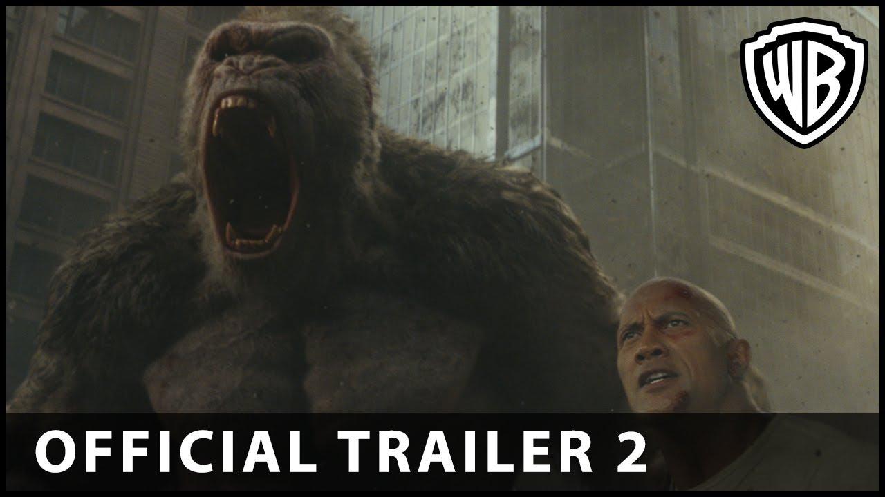 Big meets Bigger in Sci-Fi Action Adventure 'Rampage' (Trailer 2) starring Dwayne Johnson, Naomie Harris & More
