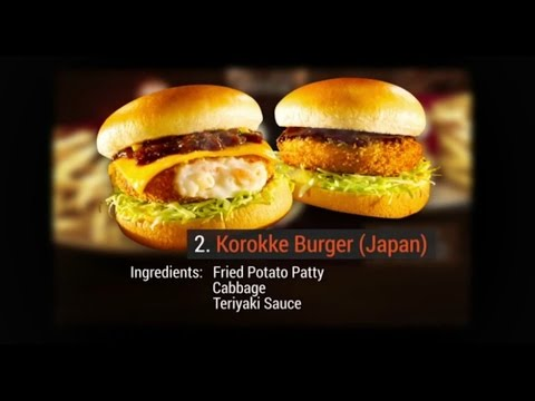 11 McDonald's Items From Around The World
