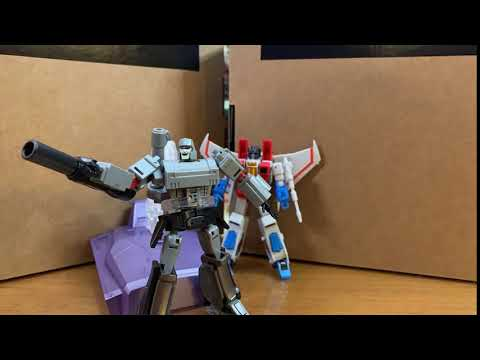 Newage Starscream and Megatron Stop Motion