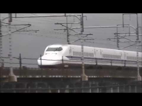 【大雨を疾走!】2015,9,06 東海道新幹線 高速通過シーン集 ~Tokaido Shinkansen passages~