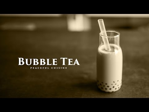 "come preparare i ""bubble tea"", o ""pearl milk tea"" (versione vegana)"