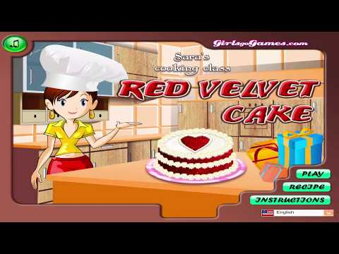 Best Cooking Game For Kids - Sara's Cooking Class - Red Velvet Cake #1