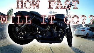3. HOW FAST is A Harley Nightster 1200?