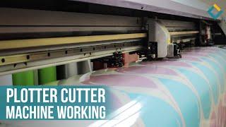 Plotter Cutter Machine Working Process