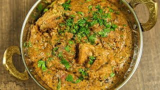"""Learn How to Make Chicken Tikka Masala Recipe from Chef Neelam Bajwa only on Get Curried. Make this Authentic Indian Tandoori Style Homemade Gravy at your home and share your experience with us in the comments section below.Ingredients:-Tikka Masala Spice Mix Dry roast and grind the following:- 5-6 Dry Red Chillies 2"""" Cinnamon ¼ tsp. Mace ¼ tsp. Nutmeg 3 Black Cardamoms 5-6 Green Cardamoms 1 tsp. Poppy Seeds Fenugreek Seeds ½ tbsp. Black Peppercorns 1 tbsp. Coriander Seeds 1 tbsp. Cumin Seeds 6-7 ClovesFor Marination:-250 gms. Boneless Chicken ThighsTikka Masala Spice Mix2 tsp. Ginger-Garlic PasteJuice of 1 lemon1 tbsp. SaltDried Fenugreek leavesFor Gravy:-2 tbsp. Ghee1-2 onion, coarsely ground2 tbsp. Ginger-Garlic Paste1 tsp. Turmeric Powder1 tsp. Cumin Powder1 tsp. Coriander Powder1 tsp. SaltWater2 tbsp. Tomato Puree1-2 tsp. Sugar1 tbsp. Dried Fenugreek leavesCream1 tbsp. Garam MasalaMethod:-- Marinate the chicken with the whole spice mix and the rest of the ingredients mentioned and leave atleast for 1 hour in the refrigerator.- Spread the chicken pieces on aluminium foil with dollops of ghee.- Preheat the oven and grill the chicken for 15-20 minutes, flipping midway.- In a pan add ghee, onion, ginger-garlic paste, turmeric powder, cumin powder, coriander powder, salt , tikka masala spice mix, tomato puree, water, sugar, dried fenugreek leaves and cook until the ghee separates from the paste.- Take the chicken out of the oven and add it to the gravy.- Add water and stir.- Then add the cream, garam masala and stir well.- Turn the flame of and add fenugreek leaves and coriander.Serve hot with Naan or Tandoor Roti!Delicious Chicken Tikka Masala is ready to serve!HAPPY COOKING!!!Host : Neelam BajwaDirector: Vaibhav DhandhaCamera: Kavaldeep Singh Jangwal, Pratik Gamre, Akshay Sawant, Spandan RoutEditing: Dinesh ShettyProducer: Rajjat A. BarjatyaCopyrights: Rajshri Entertainment Pvt LtdSubscribe and Get regular Updates: http://www.youtube.com/user/getcurried?sub_confir"""