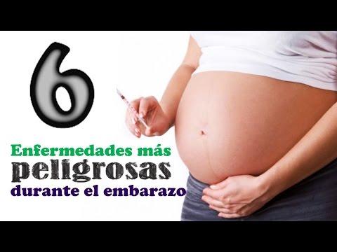 LAS 6 ENFERMEDADES MÁS PELIGROSAS DURANTE EL EMBARAZO