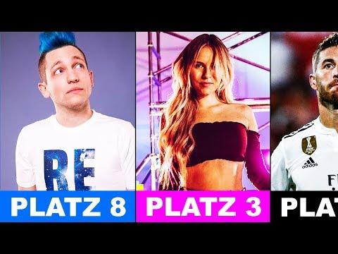 Die beliebtesten Musikvideos von deutschen YouTubern 2018!