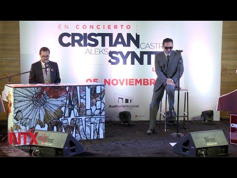 Syntek y Castro preparan show tipo Las Vegas