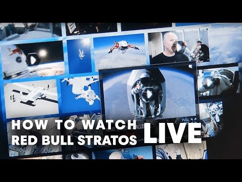 How to watch Red Bull Stratos LIVE!