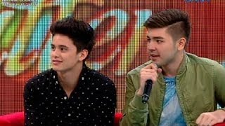 Video Startalk: DOUBLE THE HOTNESS, double the kilig! LIVE: James Reid and Andre Paras MP3, 3GP, MP4, WEBM, AVI, FLV September 2019