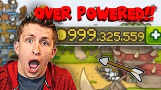 💰1 Billion Coins💰 = 🔥OVERPOWERED TOWERS!!🔥 | Grow Castle