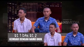 Video RI 1 dan RI 2, Kembar Dengan Nama Unik | HITAM PUTIH (13/07/18) 2-4 MP3, 3GP, MP4, WEBM, AVI, FLV Juli 2018