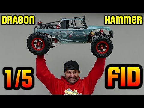 FID RACING DRAGON HAMMER V2 1/5 4WD BEAST - Unboxing & In-Depth First Look