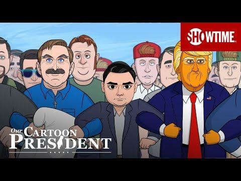 'Save the Right' Ep. 9 Extended Sneak Peek   Our Cartoon President   Season 2