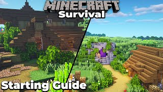 A Brand New Minecraft 1.15 Survival World, Done RIGHT! Expanding Your First Base