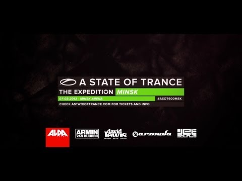 Tonight, ASOT600 lands in Minsk!