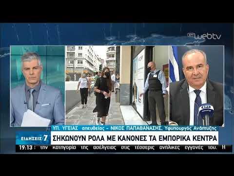 O Υφυπουργός Ανάπτυξης Νίκος Παπαθανάσης στην ΕΡΤ | 17/05/2020 | ΕΡΤ