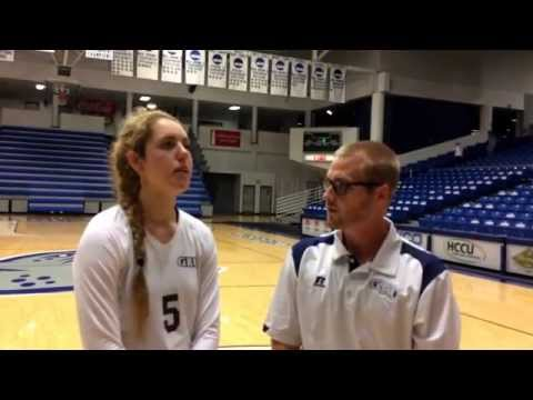 VB Interview: Savanna Gonzales After Win Over UNCP
