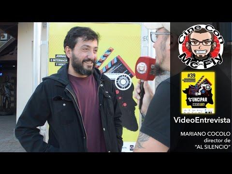 """VideoEntrevista - UNCIPAR 2017 - Mariano Cocolo Director de """"Al Silencio"""""""