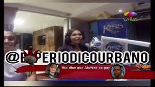 Mía Cepeda dice en una entrevista que Alofoke es Gay