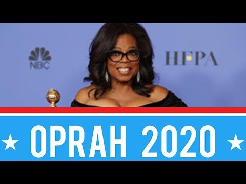 Celebrities and Fans Agree - Oprah 2020 Is A MUST! | 2018 Golden Globes