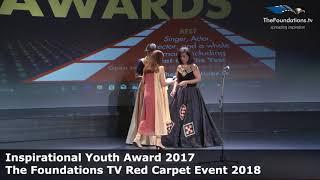 Kriti Badola wins Foundations TV Inspirational Youth Award 2017