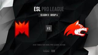 Infinity vs Denial - ESL Pro League Season 9 NA - map1 - de_mirage [MintGod & SSW]