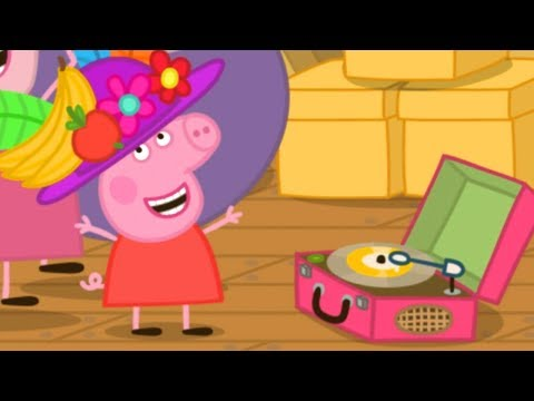 Peppa Pig en Español Episodios completos  Ático de la abuela y el abuelo!  Dibujos Animados