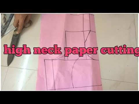 Video High neck katori blouse paper cutting download in MP3, 3GP, MP4, WEBM, AVI, FLV January 2017